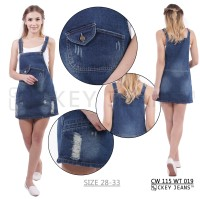 Jual Wearpack Rok Jeans / Overall Jeans CW 115 WT 019 S Murah