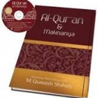 Buku Al-Quran dan Maknanya Karya M. Quraish Shihab