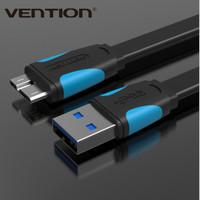 Vention [A12 0.25M] Kabel Data FLAT USB 3.0 AM Micro-B Kabel Hardisk