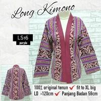 Ethnic Kimono Blazer Outer Cardigan Ethnic Outwear