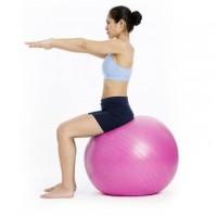 Jual gym ball + pompa / bola olah raga / alat fitness Murah