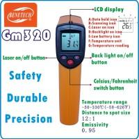 Jual Digital Laser Infrared Thermometer Gun Alat Pengukur Suhu Benda Murah