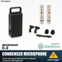 Behringer Microphone Condenser C2 / C 2 / C-2 for Live & Recording Mic