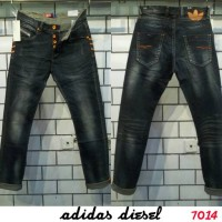 Jual ADIDAS DIESEL jeans slim fit stretch button fly size 30-40 Murah