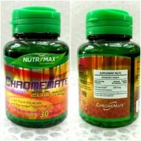 obat herbal alami nutrimax Chromemate 200mcg original asli