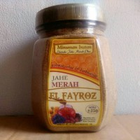 obat herbal alami Jahe Merah Toples El Fayroz original