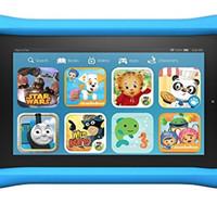 "Kindle Fire Kids Edition Tablet, 7"" Display, Blue Kid-Proof Case"