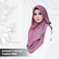 Jual Hijab Instant 2faces Tazkia PAD Cantik Grosir Mumer Murah