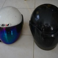 helm anak ukuran xl merk GM winny the pooh