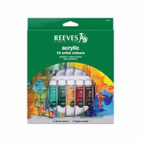 [termurah] REEVES Acrylic Paint Set 18 pcs