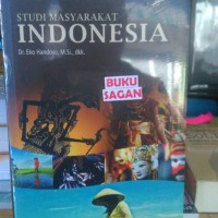 BUKU STUDI MASYARAKAT INDONESIA EKO HANDOYO OMBAK ag