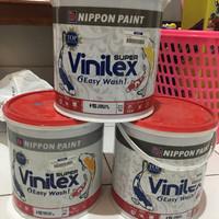 cat tembok nippon paint super vinilex 952- wisdom blue 5 KG