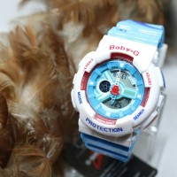BABY G DORAEMON GA 110 BLUE WHITE