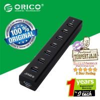 Jual ORICO H7013-U3 7-Port Portable USB 3.0 HUB - Original Murah
