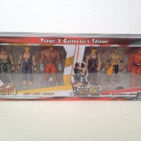 Jazwares Street Fighter Figure set 6