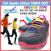 Jual KOOLLACES Tali Sepatu Karet Silikon Korea Tanpa Ikat Murah