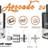 Harga tank vape rdta avocado 24 genesis 1 1 by geek vape | Hargalu.com