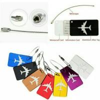 Jual Luggage tag / label tas / koper Murah