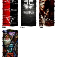 Masker Baff Bandana Watch Dogs Game COD DOTA Assassin Baf Multifungsi