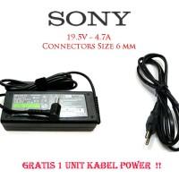 Original Adaptor laptop Sony Vaio 19.5V-4.7A SONY VGN-FS VGN-S Series