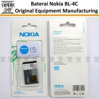 Baterai Nokia 1202 1661 2220 Slide Bl4c Bl-4c Original Oem 100% Batre