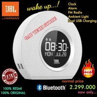 JBL HORIZON Speaker Bluetooth Clock Radio with Ambient Light Original