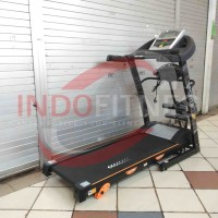 Treadmill Elektrik ID-6638M-1 Treadmil Multifungsi 6638 M