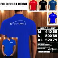 Polo Shirt Otomotif Mobil DATSUN GO CROSS SILUET 1/Kaos Kerah/Baju