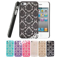 Damask Vintage Lace Pattern Hard Cases for iPhone 5/5S/SE