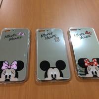 Jual Mickey Minnie Mirror Soft Case for Iphone 7 Plus Murah