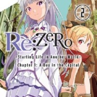 Manga / Komik Re Zero Vol 2 English Manga YenPress