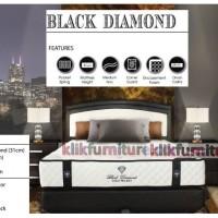 BLACK DIAMOND Sabrina (kasur 200x200cm) Springbed Central