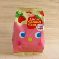 Tohato Caramel Corn Strawberry