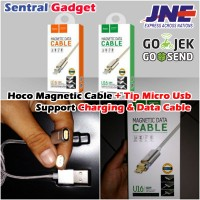Jual Kabel Magnetic Charger Hoco U16 Tip Micro Usb Fast / Quick Charging Murah