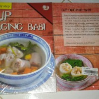 step by step 50 resep sup daging babi Mary winata