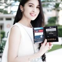 Custom Initial Name Medium Book Card Holder 6