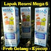 Jual MEGA 6 Botol Air Terapi Diabetes (BONUS 1 Gelang Kesehatan Black Jade) Murah