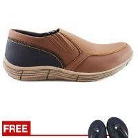 Sepatu Pria Loafers Santai Kampus Dan Kerja Redknot Grovers Tan Murah