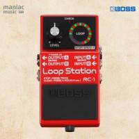 Boss RC-1 (Loop Station, Overdub, Indicator, Stereo, 12 Min, Efek)
