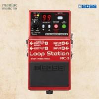 Boss RC-3 (Loop Station, Overdub, Stereo, 99 Memory, 3 Jam, USB WAV)