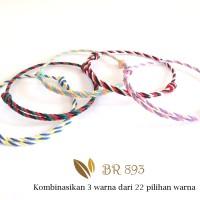 Jual Gelang Tridatu Custom Warna, Kombinasi 3 Warna dari 22 Warna BR 893 Murah