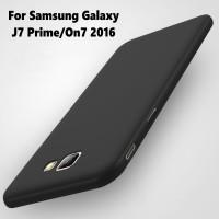 Case Slim Silicone Matte Soft Casing Samsung (A3/A7 2017|J5/J7 Prime)