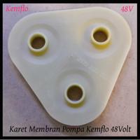 Karet Segitiga Pompa Booster RO Karer Diaphragm Pumpa Booster
