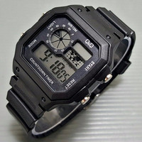 [Asli] Q&Q jam tangan pria digital LED (casio, skmei, gshock, suunto)