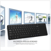 Keyboard Wireless dengan Touchpad / smart tv / samsung / LG / LED