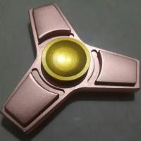 Jual Fidget Spinner Stainless Steel #2 Rose Gold Murah