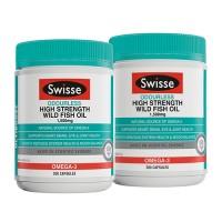 Swisse Odourless High Strength Wild Fish Oil 1500mg 200 caps