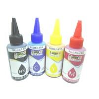 Tinta Printer Dye Brother 100ml Korea Water & Anti UV 4 Warna