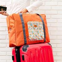 Jual #8 Tas Lipat Foldable Travel Bag /Hand Carry / Folding Boston Bag Unik Murah