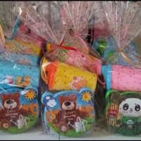 Jual Paket hemat souvenir ulang tahun kotak makan dan tumbler Murah